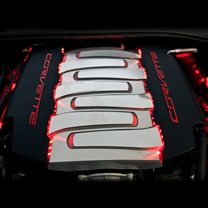 2014, 2015, 2016, 2017, C7 Corvette Stingray, Z51, Grand Sport Fuel Rail LED Lighting Kit