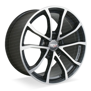 2013 Corvette - Genuine GM - 60th Anniversary - 427 Cup Wheels : Manogian Silver