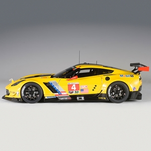 2015, 2016, 2017, 2018 C7 Corvette C7.r Lime Rock 2016 Winner Oliver Gavin/Tommy Milner #4 (Corvette Racing Team 100th Win) - Die Cast 1:18