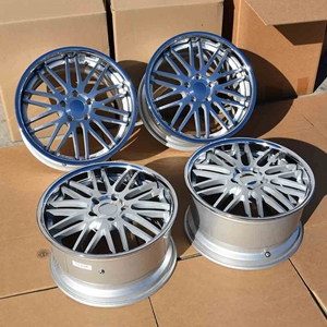 "Corvette Wheels - Cray Hawk (Set) - 19"" x 10"" / 18"" x 9.5"" - Chrome : C5, Z06"