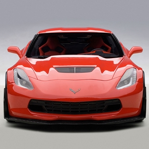 2015, 2016, 2017, 2018C7 Corvette Z06 Die Cast 1:18 - Torch Red
