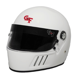Corvette GF3 Full Face Helmet - G-Force Racing : White