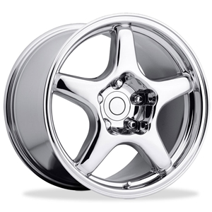 Corvette Wheels - 1994 ZR1 Style Reproduction : Chrome
